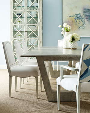 The Crestwood Table Is Reinvented In One Of Over 60 Chaddock Finishes.