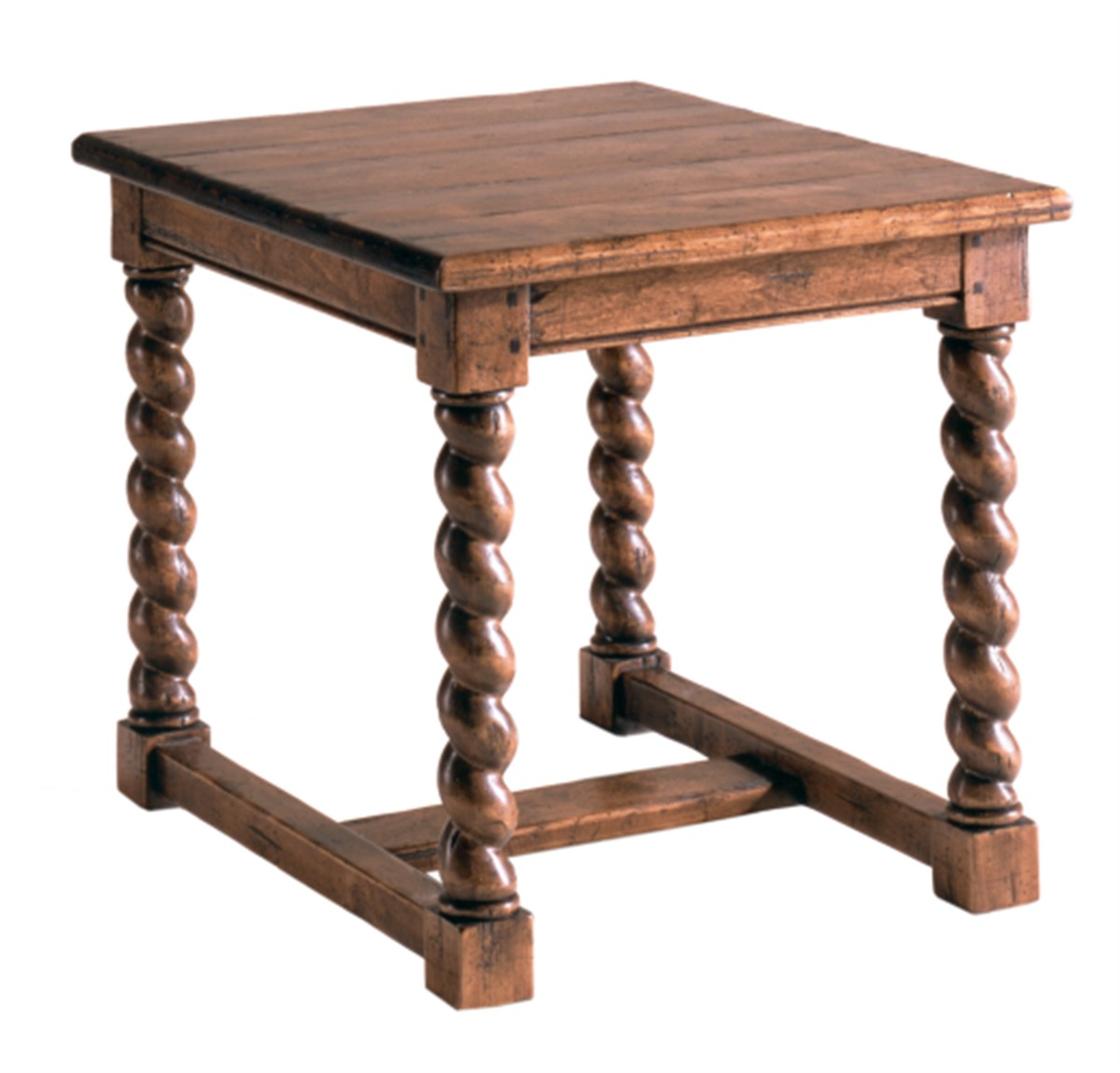 Country English Lamp Table