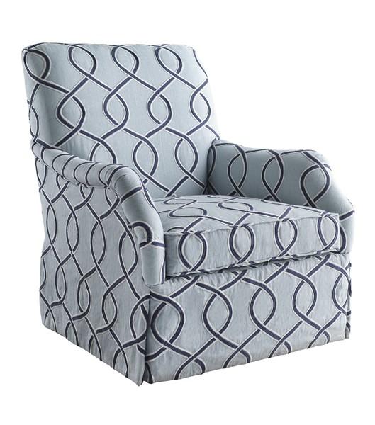 Nora Skirted Chair U1834 1   CHADDOCK COLLECTION   Our Styles   Chaddock    Morganton, NC