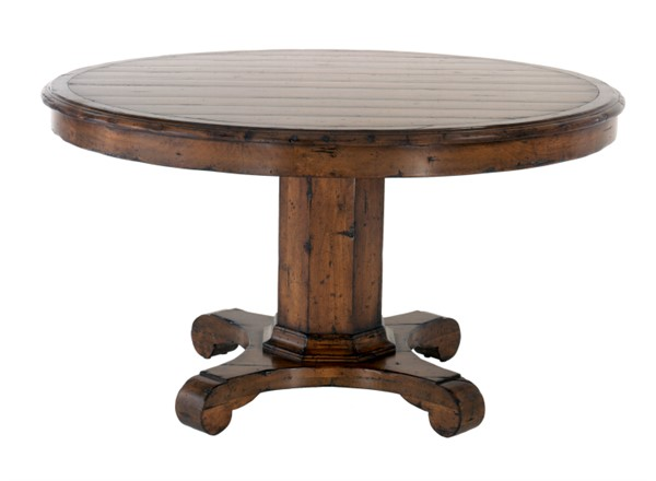 Superbe Malvern Pedestal Table CE0956   GUY CHADDOCK COLLECTION   Our Styles    Chaddock   Morganton, NC