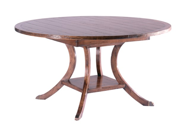 Ordinaire New Haven Round Regency Table CE0985   GUY CHADDOCK COLLECTION   Our Styles    Chaddock   Morganton, NC